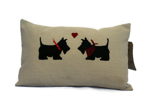 Scotty Dog Cushion