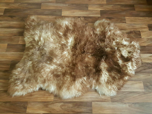 Thick & Large Rusty Brown Rug