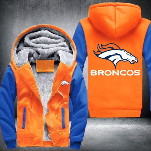 [50% OFF] EXCLUSIVE BRONCOS ZIPPER JACKET - FREE SHIPPING