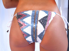 Bikini - Bikini With Colorful Sequins