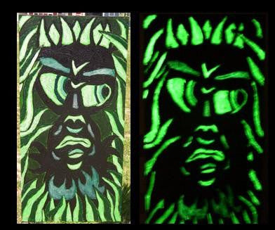 Extreme G12 Day Green Glow in the Dark Paint