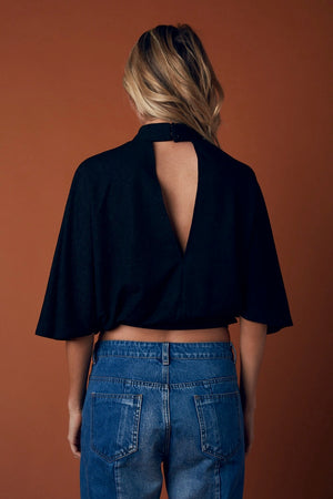 batwing crop top