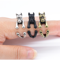 Cute And Cuddly Pitbull Terrier Ring