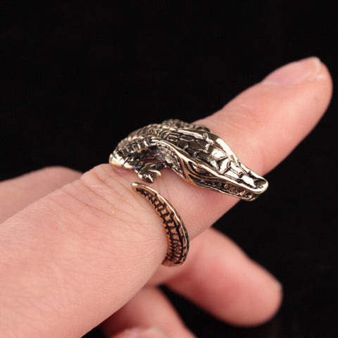 Wildlife Crocodile Ring
