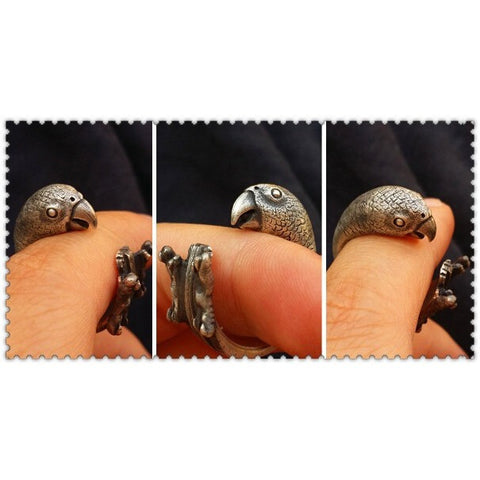 Wildlife Parrot Ring