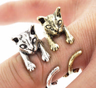 Wildlife Kitty Ring