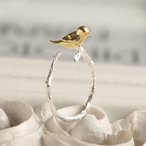 Wildlife Birdie Ring