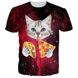 Hungry Space Cat T-Shirt
