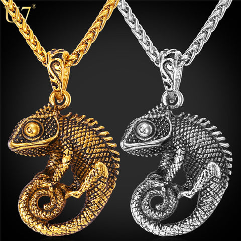 Luxury Chameleon Necklace