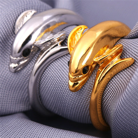 Wildlife Dolphin Ring