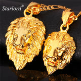 Luxury Roaring Lion Necklace