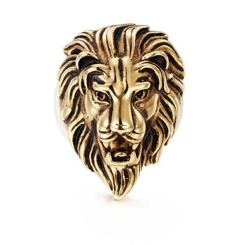 Luxurious Lion Ring