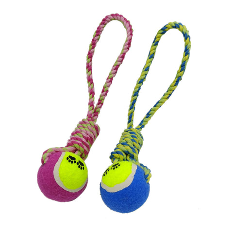 Tennis Ball Play Rope