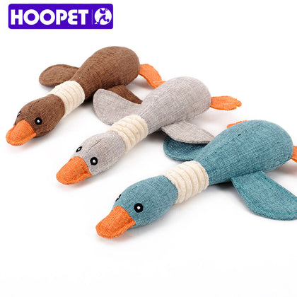 Fun Plush Duck for Small Dogs
