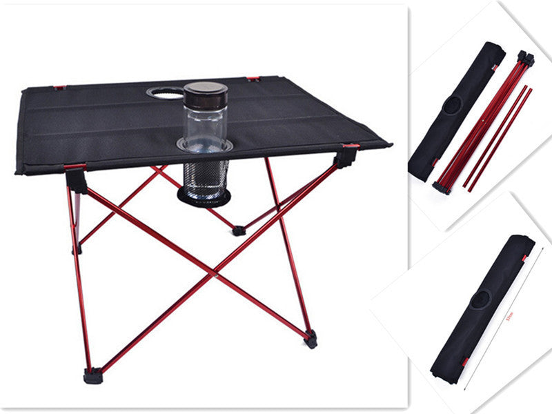High Quality Portable Outdoor Table Aluminium Alloy Folding Table   FREE  SHIPPING   Lone Rider MotoTent ...