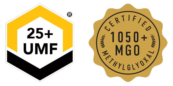Manuka Honey Rating UMF 25+