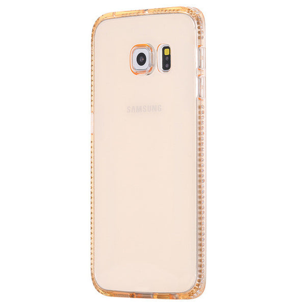 Glitter Shiny Diamond Clear Soft TPU Phone Case Cover For iPhone & Samsung Galaxy/Edge