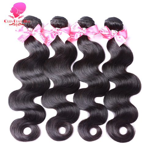 "Brazilian Body Wave Bundles 1 Piece Remy Human Hair Weave Natural Color Hair 8"" To 30"""