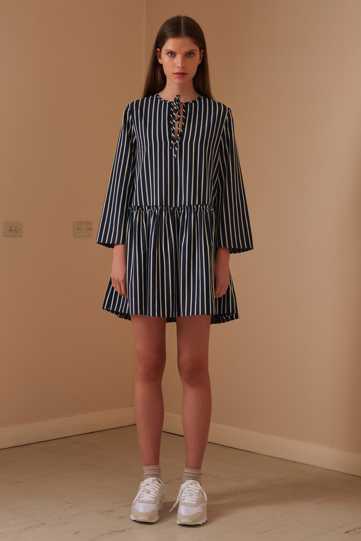 Poppy Stripe Dress