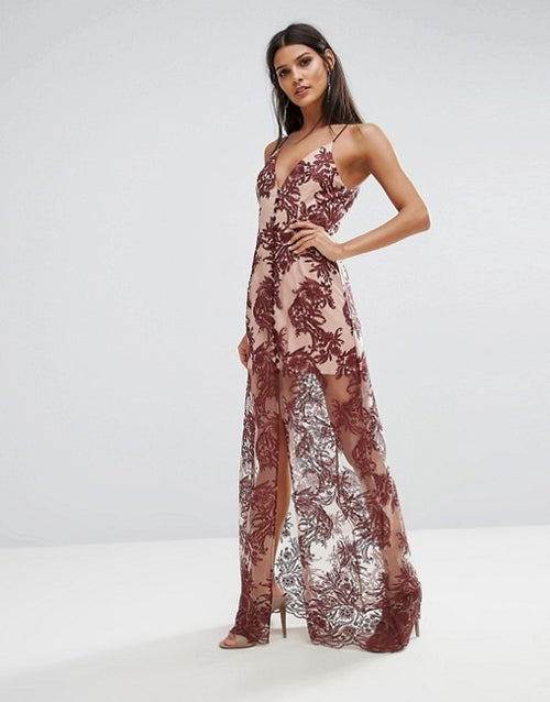 Spectral Lace Maxi