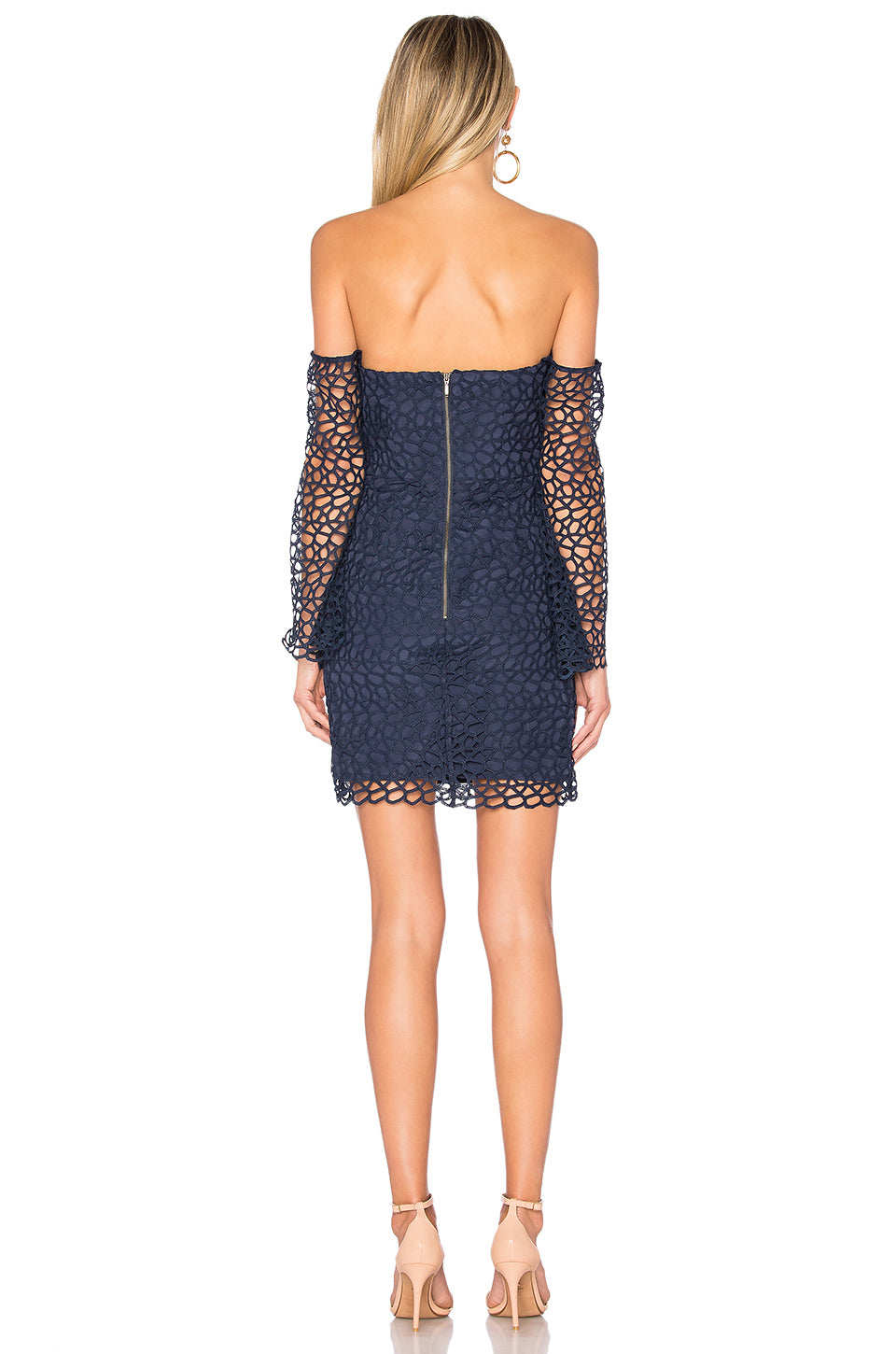 Countdown Lace Mini Dress