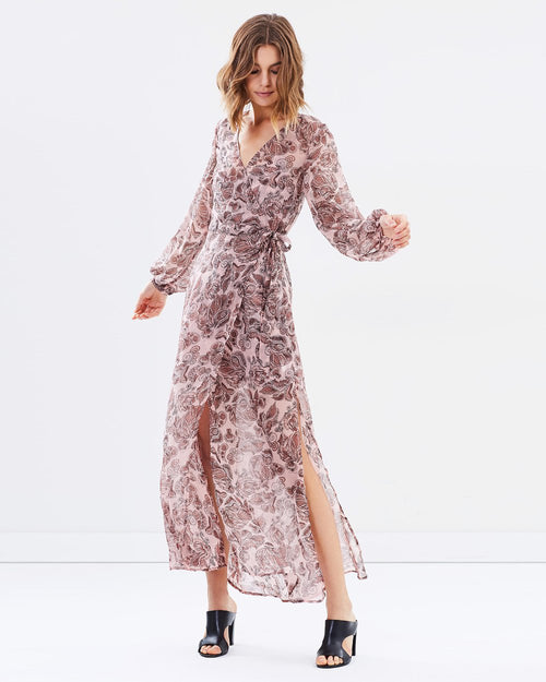 Siren Calls Wrap Dress