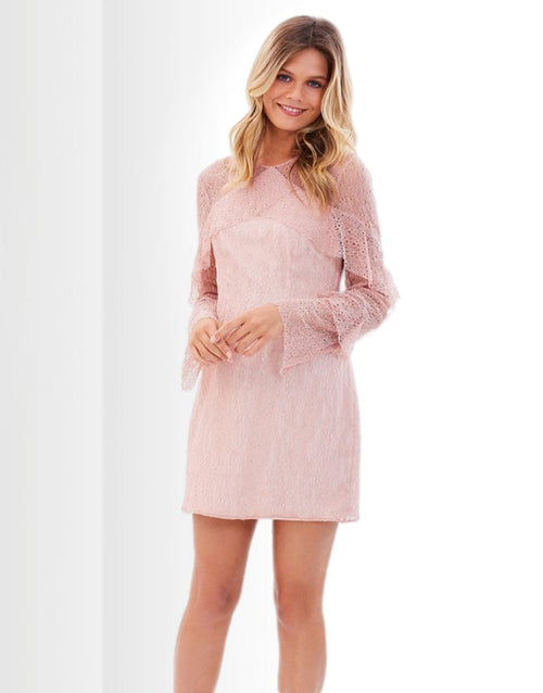 Wide Awake L/S Mini Dress