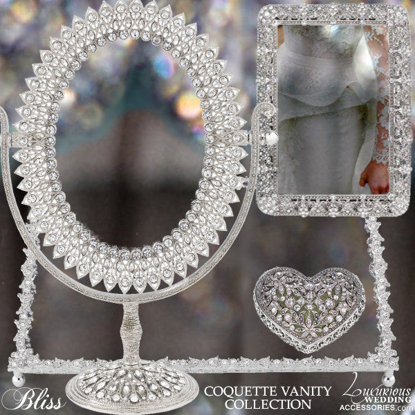 Coquette Swarovski Crystal Vanity Collection