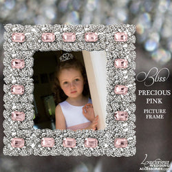 Swarovski Crystal Pink Picture Frame Precious Pink