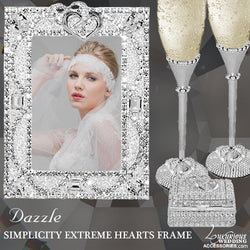 Dazzle Swarovski Crystal Simplicity Extreme Picture Frame