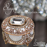 Elegant Ring Presentation Box