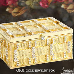 Gigi Gold Jewelry Box