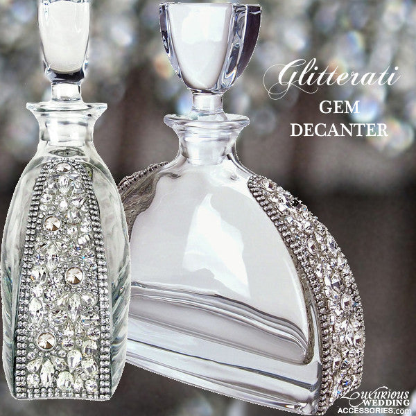 Glitterati Crystal Gem Decanter