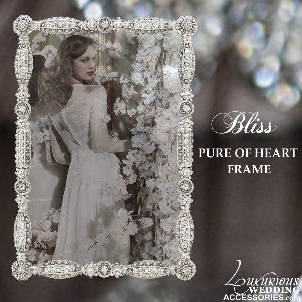 Bliss Pure of Heart Wedding Picture Frame