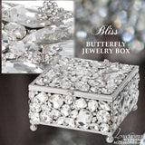 Swarovski Crystal Jewelry Box Bliss Butterfly