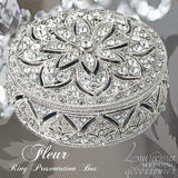 Swarovski Crystal Engagement Ring Box Bliss Fleur