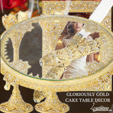 Gloriously Gold Cake Table Display Set