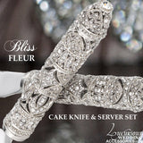 Bliss Fleur Silver Wedding Collection