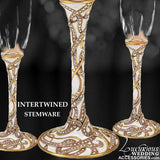 Cherished Gold Cake Knife & Server Set