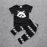Baby girl clothes set 3 pcs / pack