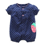 Summer Baby Rompers Short Sleeve Baby Girls Clothing Kids Jumpsuits Newborn Baby Boy Clothes