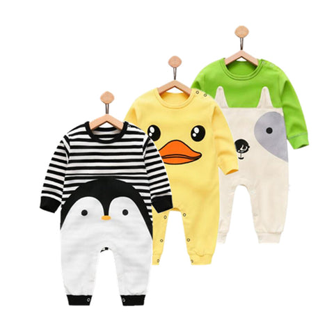 Newborn baby girl boy wear pure cotton infant clothing , fashion baby boy clothes kids rompers 100% cotton body
