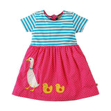 Girls Summer Dress  Animal Unicorn Princess Dress Children Costume for Kids Clothes Flamingo Baby Dress 1-6T