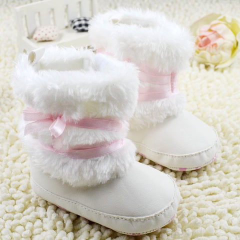 Winter Warm First Walker Baby Girl Toddler Boots