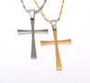 Image of Silver or GoldPlated Cross Necklace for Women, Girl