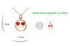Image of Smiley Emoji Gold Plated Fashion Pendant Necklace – Great Christmas Presents for Emoji Fans