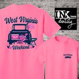 West Virginia Weekend! Trucks and Tailgate. Southern Style Tee