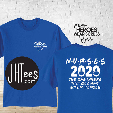 Nurses 2020, The one where they became super heroes