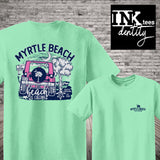 Myrtle Beach Jeep Print, Southern style tee, Celebrate Spring Break 2020