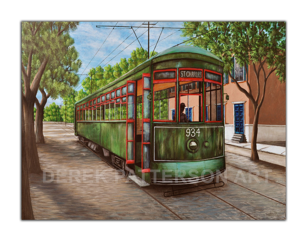 Trolley on St. Charles